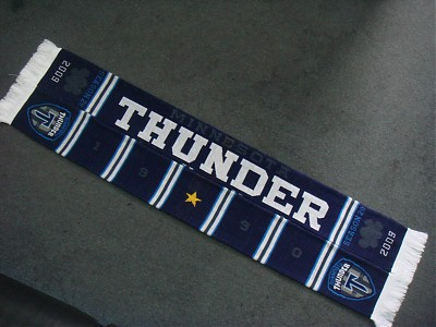 The 2009 Thunder Supporters Scarf